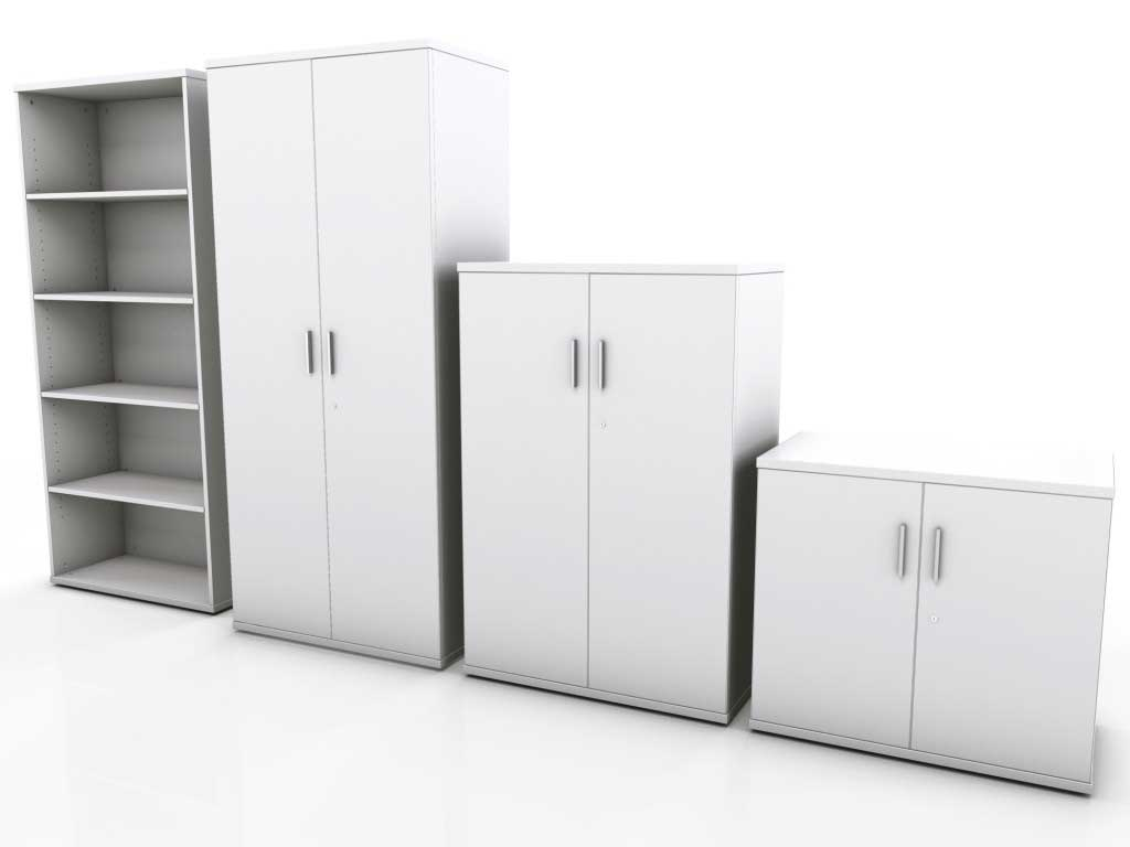 Modular storage furniture and storage systems