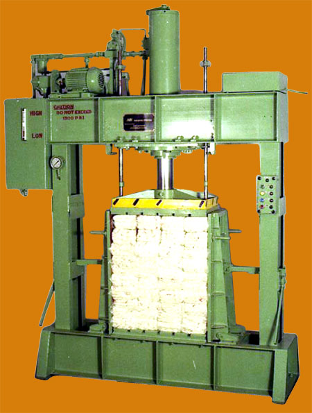 Hank Yarn Baling Press, Coimbatore, Tamil Nadu, India