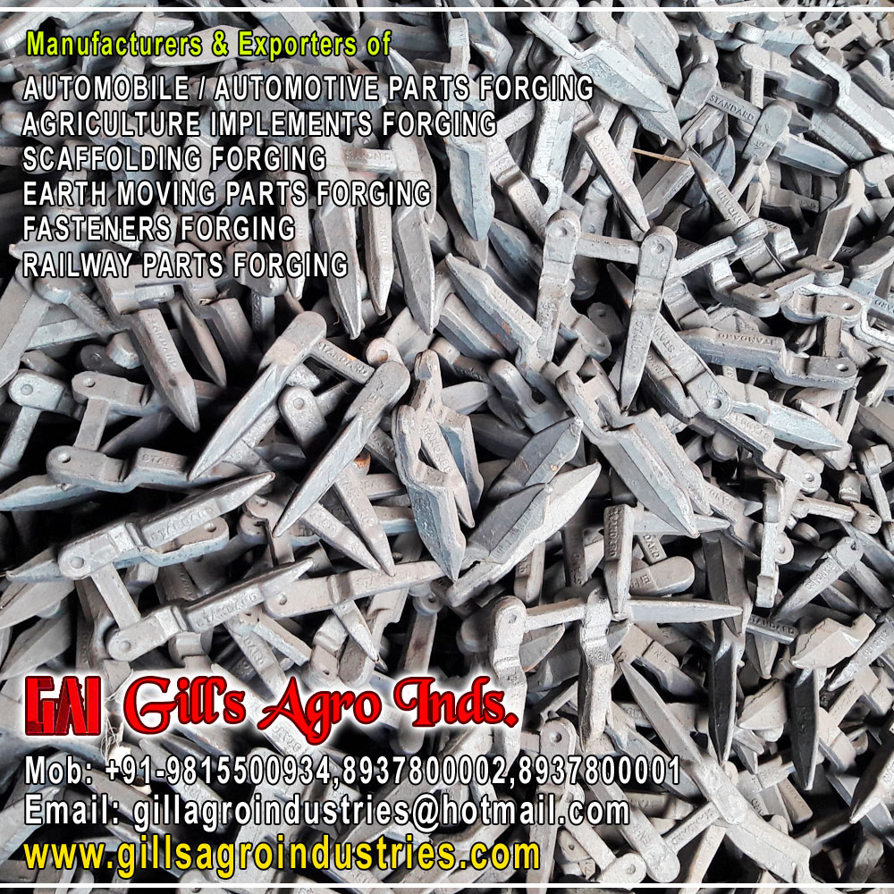Agriculture Parts Forgings, Agriculture Parts Forgings